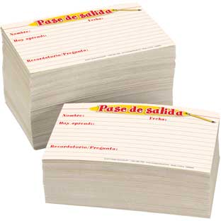 Pase de salida (Spanish Exit Passes) - 500 cards