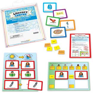 Cause And Effect Level 1: Sort And Say Literacy Center™ - 1 literacy center