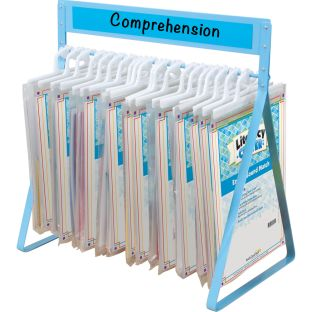 Foundational Skills Literacy Centers™ - Grades K-1 - 11 Literacy Centers, 1 rack