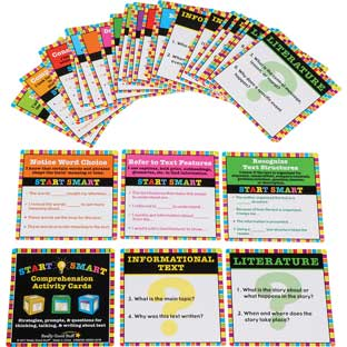 Start Smart Comprehension Activity Cards