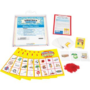 Rhyme Time Lotto Literacy Center™ - 1 literacy center