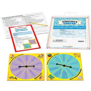 Comprehension Spin And Respond Literacy Center™ - 1 literacy center