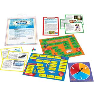 Reading Strategies Game Level 1 Literacy Center™ - 1 literacy center