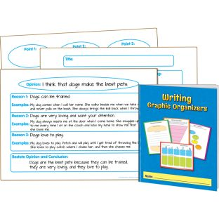 Writing Graphic Organizer Journals And Dry Erase Kit - 3 boards, 12 journals