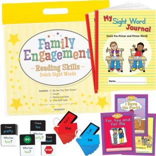 Family Engagement Reading Skills - Dolch Sight Words