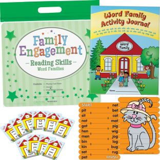 Family Engagement Reading Skills - Word Families - 1 multi-item kit