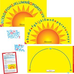 Centro de aprendizaje™: Juego del arco del alfabeto (Spanish Alphabet Arch)
