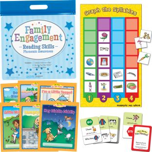 Family Engagement Reading Skills - Phonemic Awareness - 1 multi-item kit