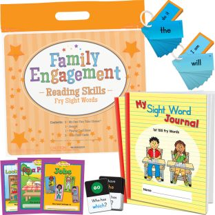 Family Engagement Reading Skills - Fry Sight Words - 1 multi-item kit