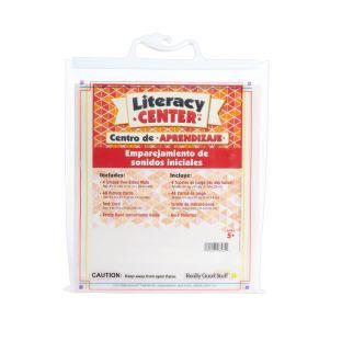 Centro de aprendizaje™: Emparejamiento de sonidos iniciales (Spanish Beginning Sound Match) - 1 literacy center
