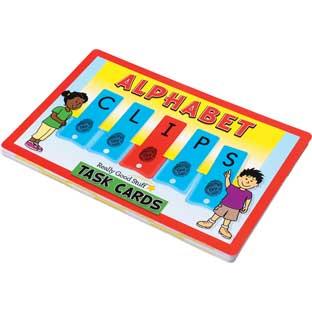 Alphabet Clips Task Cards - 21 cards