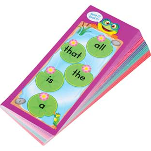 Tap-A-Word™ Sight Word Fluency Cards - 46 cards