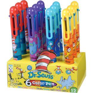 Dr. Seuss™ 6-Color Pens - 12 pens