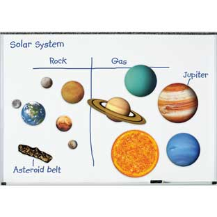 Giant Magnetic Solar System - 12 pieces