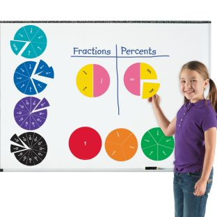 Magnetic Fraction Circles - 51 magnetic fractions