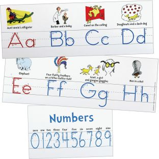 Dr. Seuss™ Alphabet Line - 9 piece set
