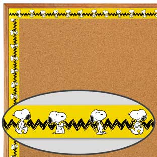 Peanuts® Snoopy Trimmers - 1 border, 35 feet