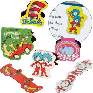 Dr. Seuss™ Magnetic Bookmarks - 50 bookmarks