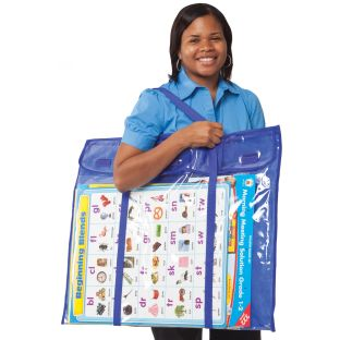 Deluxe Bulletin Board Storage Bag - 1 storage bag