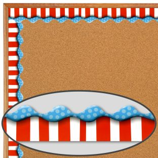 Dr. Seuss™ Dimensional Look Extra-Wide Deco Trim - 1 border trim