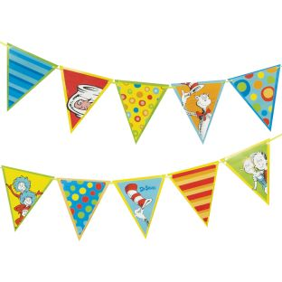 Dr. Seuss™ Pennant Banner - 10 pieces