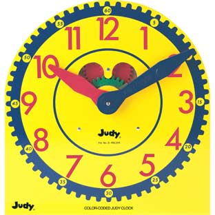 Color-Coded Judy® Clock - 1 clock