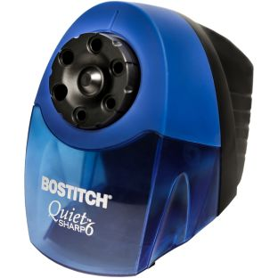 Quiet-Sharp™ Classroom Electric Pencil Sharpener - Blue - 1 electric pencil sharpener