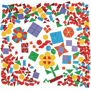 Translucent Geometric Shapes Learning Kit