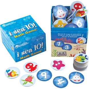 I Sea 10!™ Game - 1 math game