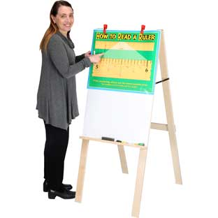 Dry Erase Value Easel - 1 easel