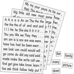 Magnetic Sight Words - 240 magnets