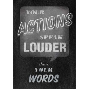 Inspire U Poster - Your Actions
