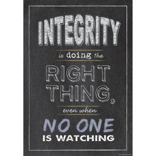 Inspire U Poster - Integrity