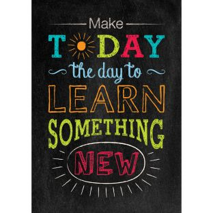 Inspire U Poster - Make Today The Day To...