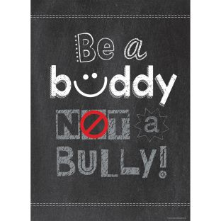 Inspire U Poster - Be A Buddy Not A Bully