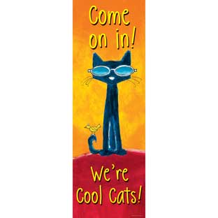 Pete The Cat® Welcome Banner