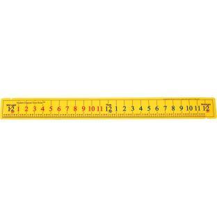 Student Elapsed Time Rulers - Set Of 12