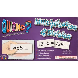 QUIZMO Multiplication And Division Game