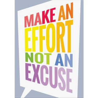 Inspire U Posters - Make an Effort...
