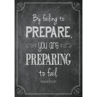Inspire U Posters - By Failing To Prepare...