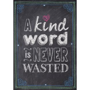 Inspire U Posters - A Kind Word Is Never Wasted - 1 poster