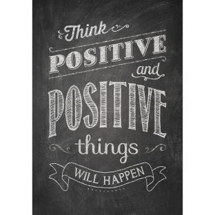 Inspire U Posters - Think Positive And Positive... - 1 poster