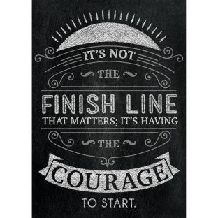 Inspire U Posters - It's Not The Finish Line...
