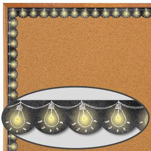 Chalk It Up! Lightbulbs Border Trim - 1 border trim