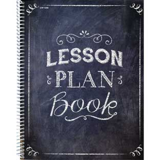 Chalk It Up! Lesson Plan Book - 1 book