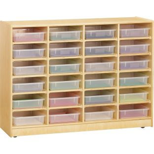 24 Paper-Tray Mobile Storage - Without Paper Trays