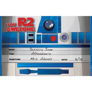 Star Wars™ R2-D2 Recognition Award