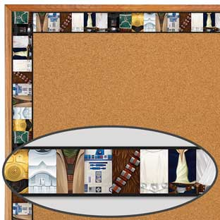 Star Wars™ Deco Trim - Extra Wide - 1 border trim