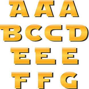 Star Wars™ Deco Letters - 110 letters