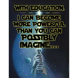 Star Wars™ Education Poster